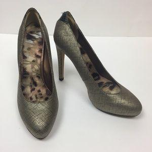 Sam Edelman Jasmine Metallic Pumps Heels 6.5